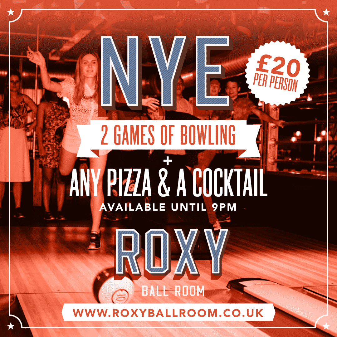 day time deal in liverpool roxy on NYE